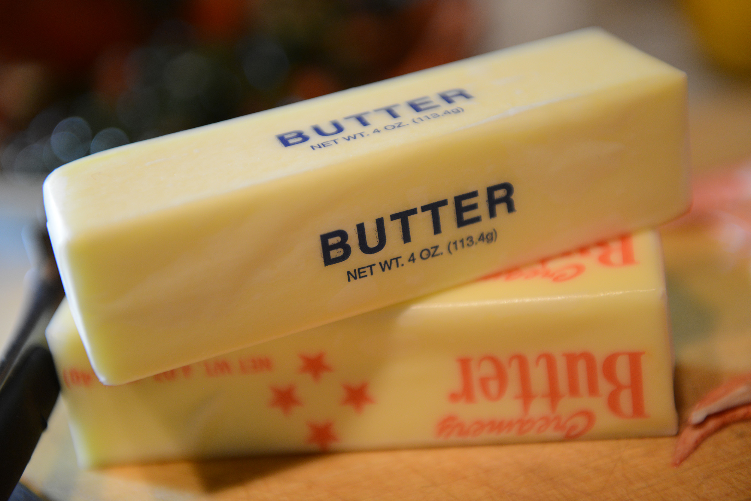 Although natural, butter is still unhealthy