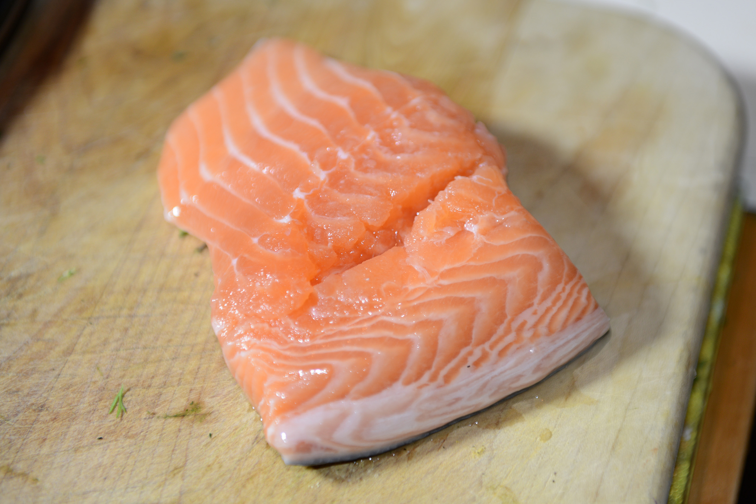 Salmon as a healthy food