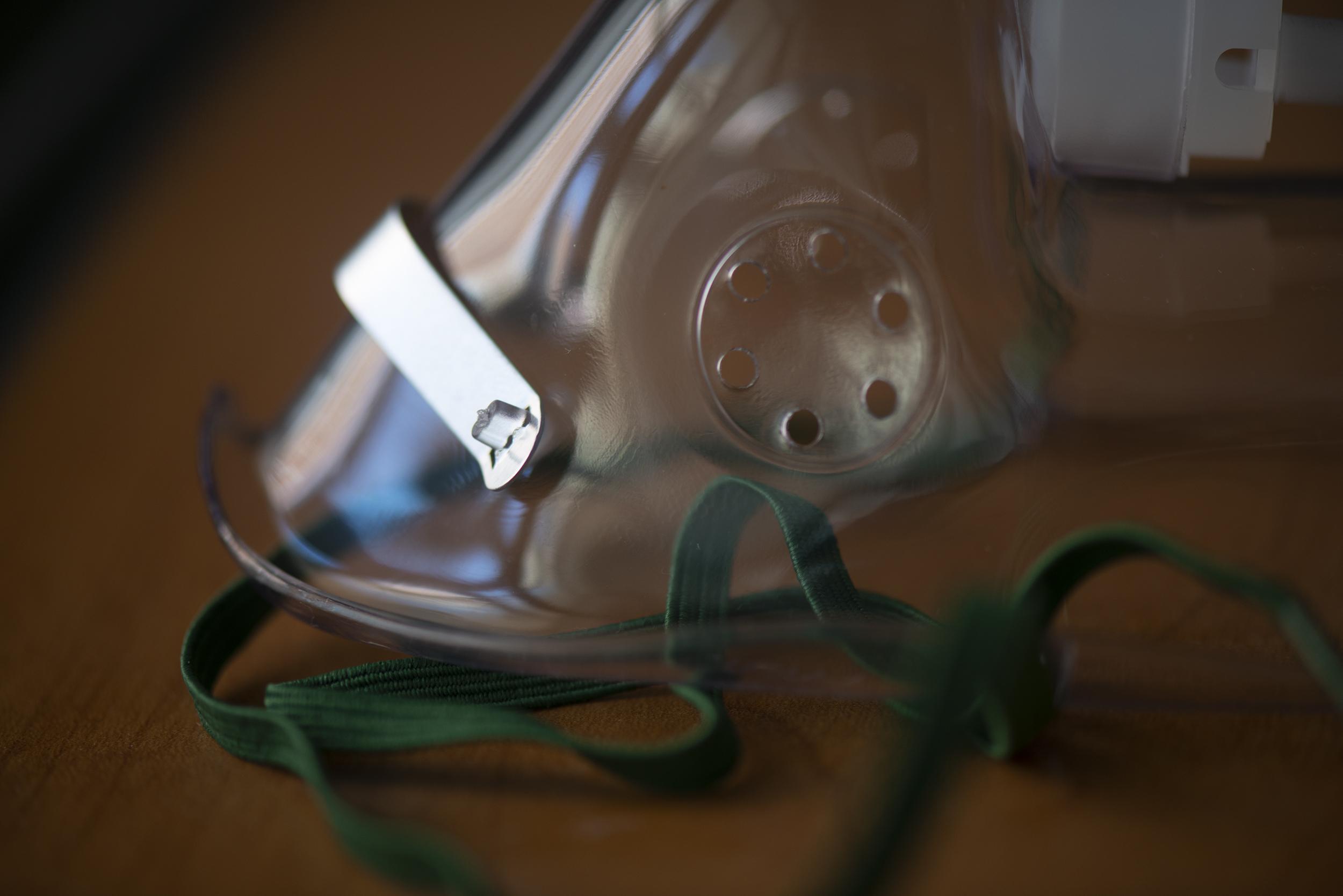 Supplemental oxygen mask