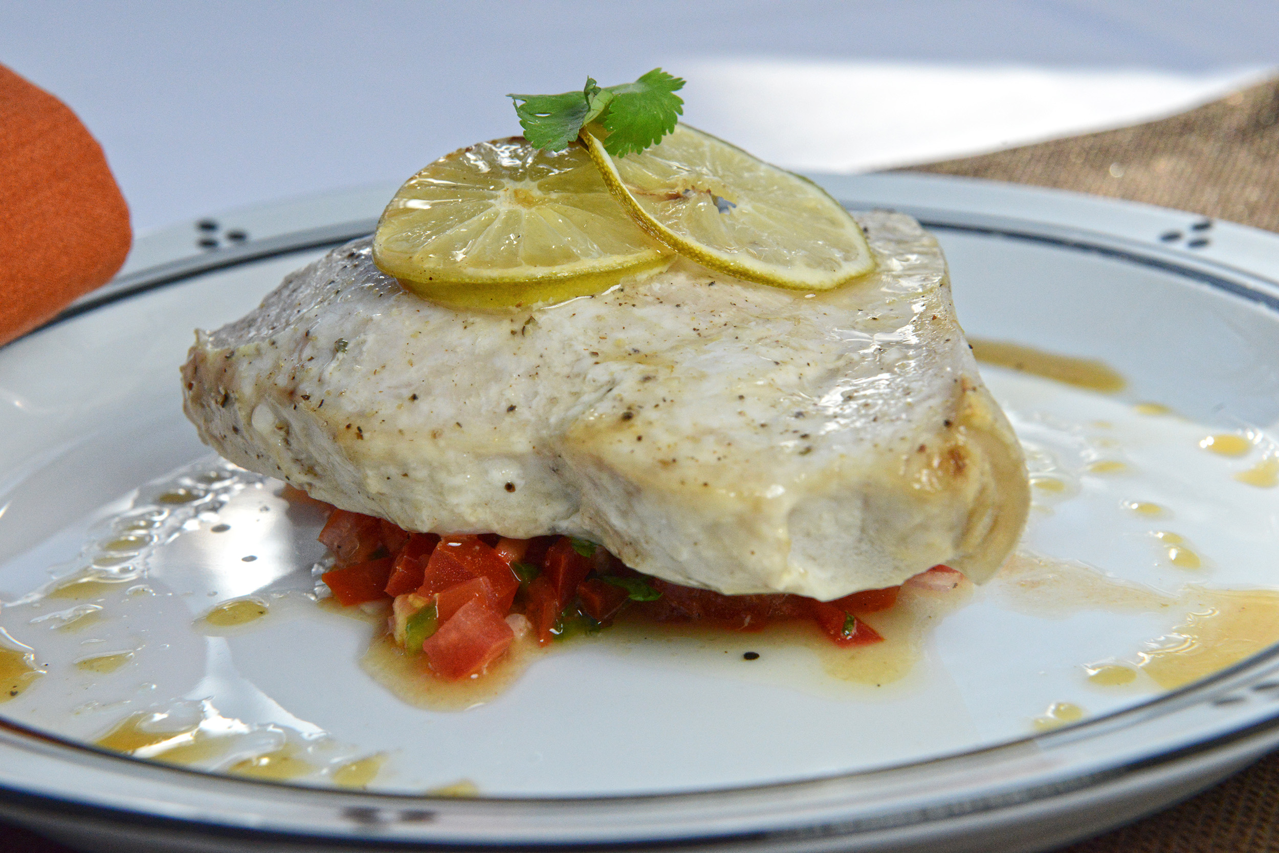 Swordfish as a source of protein.